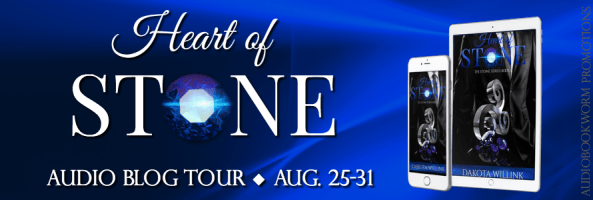 🎧 Audio Blog Tour: Heart of Stone by Dakota Willink