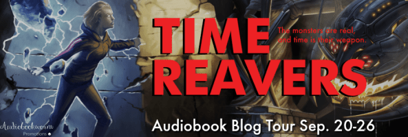 🎧 Blog Tour: Time Reavers by Jacob Holo