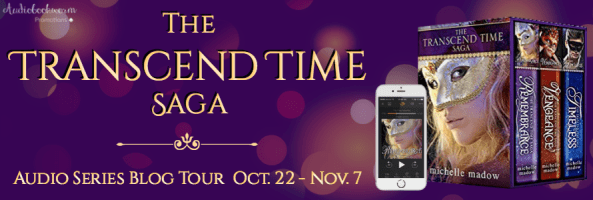 🎧 Series Blog Tour: The Transcend Time Saga by Michelle Madow
