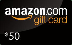 Prize: $50 Amazon Gift Card