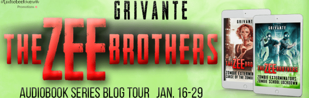🎧 Audio Series Blog Tour: The Zee Brothers Series by Grivante