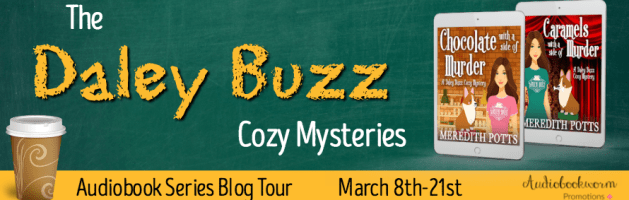🎧 Audio Series Blog Tour: The Daley Buzz Mysteries by Meredith Potts