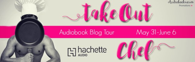🎧 Audio Blog Tour: Takeout Chef by Gaby Cabezut