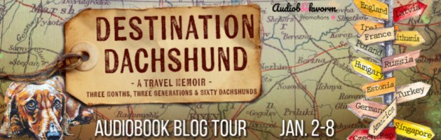 🎧 Audio Blog Tour: Destination Dachshund by Lisa Fleetwood