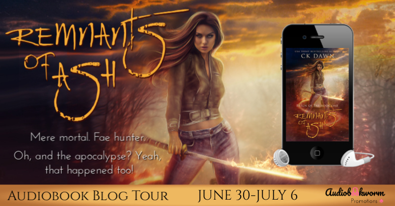 Audiobook Blog Tour: Remnants of Ash by C.K. Dawn