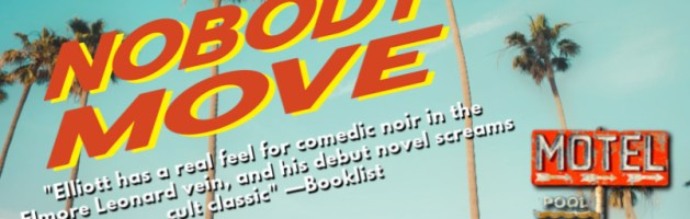 🎧 Audio Blog Tour: Nobody Move by Philip Elliot