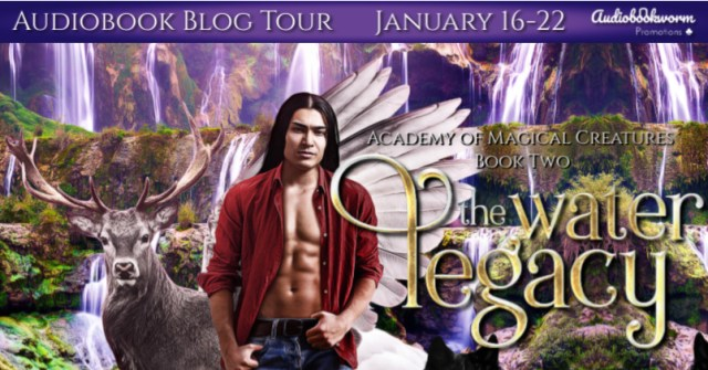Audiobook Tour: The Water Legacy by Megan Linski & Alicia Rades
