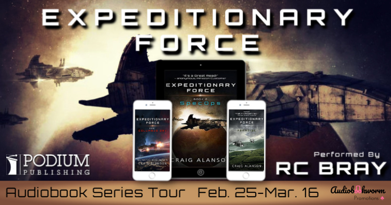Audiobook Series Tour: Expeditionary Force by Craig Alanson