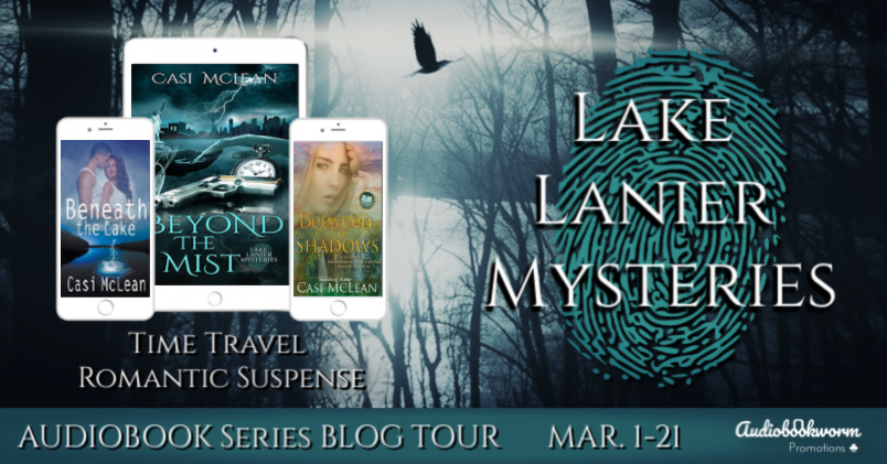 Audiobook Blog Tour: Lake Lanier Mysteries by Casi McLean