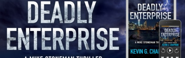 ⭐️ New Audio Blog Tour: Deadly Enterprise by Kevin G. Chapman