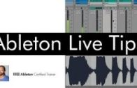 Ableton Live Tips: Setting Up A Default Project Template