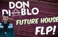 Don DIABLO Style Future House FLP   FL Studio Template 32
