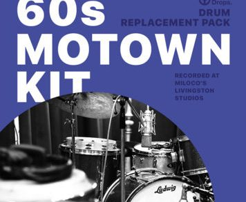 Expansion Packs - DrumDrops 60s Motown Kit - Drum Replacement Pack