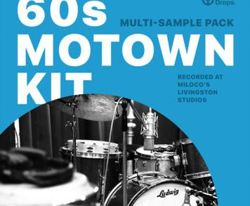Sample Packs - DrumDrops 60s Motown Kit - Multi-Sample Pack