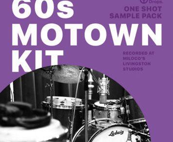 Sample Packs - DrumDrops 60s Motown Kit - One Shot Sample Pack