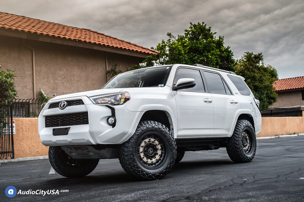 """Compare the subaru forester, toyota 4runner, and toyota rav4 side by side to see differences in performance, pricing, features and more 20"""" Black Rhino Wheels Arsenal Sand on Black Off-Road Rims"""