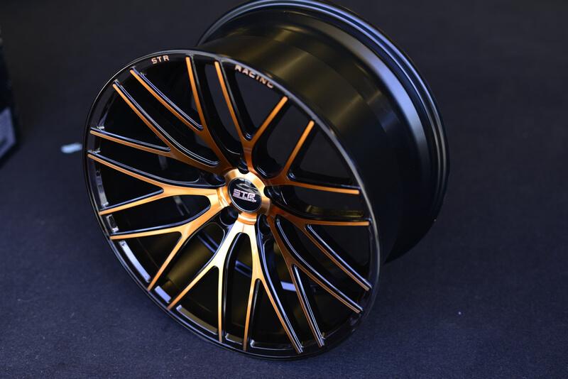 20 Staggered STR Wheels 615 Copper Rims STR010 4