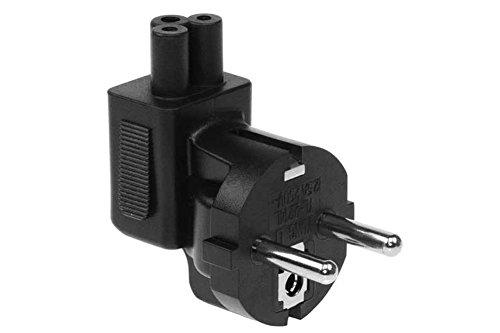 SF Cable USA NEMA 5-15P Plug To IEC C5 Receptacle Right