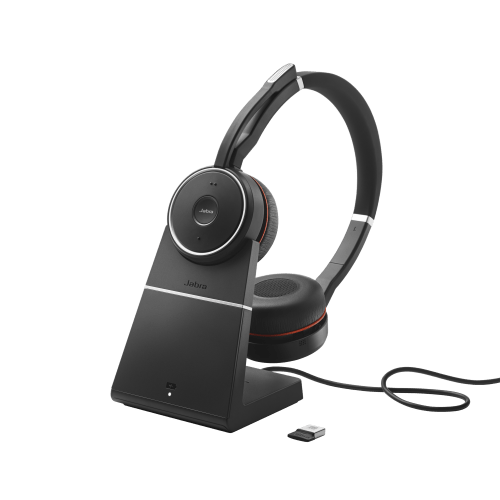Jabra Evolve 75 incl. charging stand MS Stereo 1