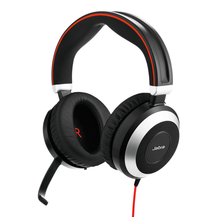 Jabra Evolve 80 headset MS Stereo 1