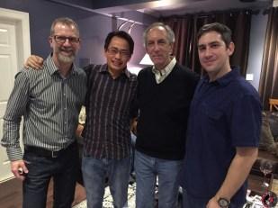 Mark Jones, Richard Mak, Harry Weisfeld, Mat Weisfeld