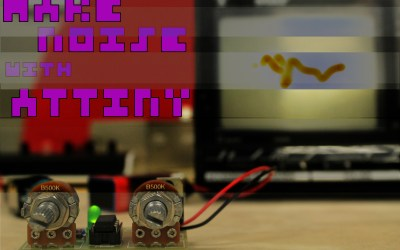 Make noise with ATtiny !