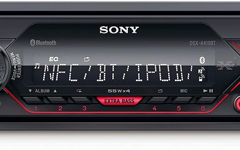 SONY BLUETOOTH USB MEDIA RADIO DSXA410BT 3