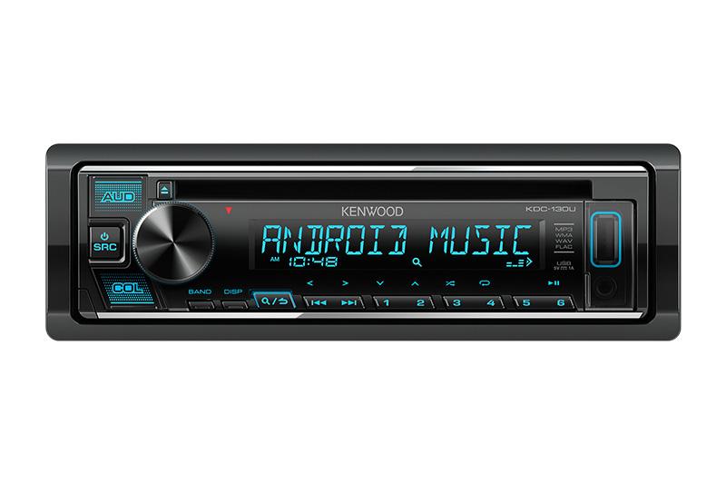 KENWOOD CD USB AUX RADIO KDC130U 3
