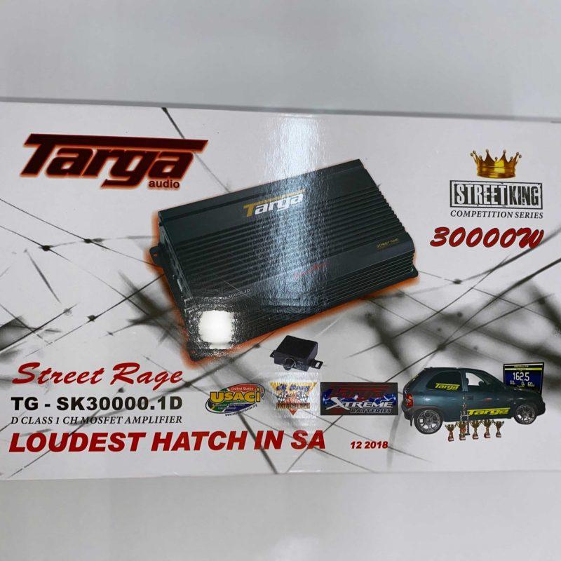 TARGA AMPLIFIER 1CH STREET KING 30000W TGSK30000.1D 2