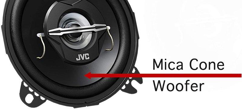 4'' JVC SPEAKERS 210W CSJ420X 2