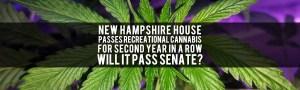 NH House Passes Marijuana Legalization Bill