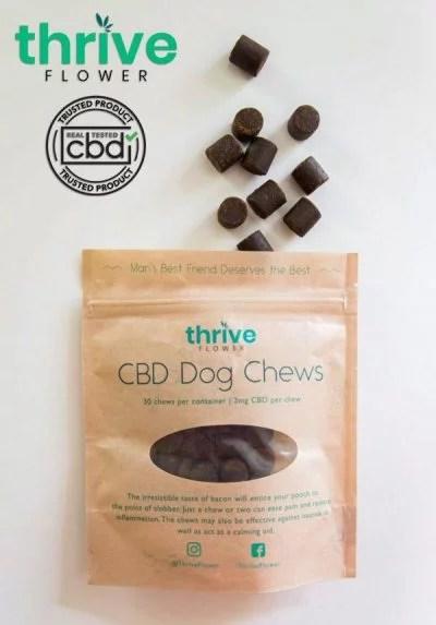 ThriveFlower CBD Dog Treats AudioKush