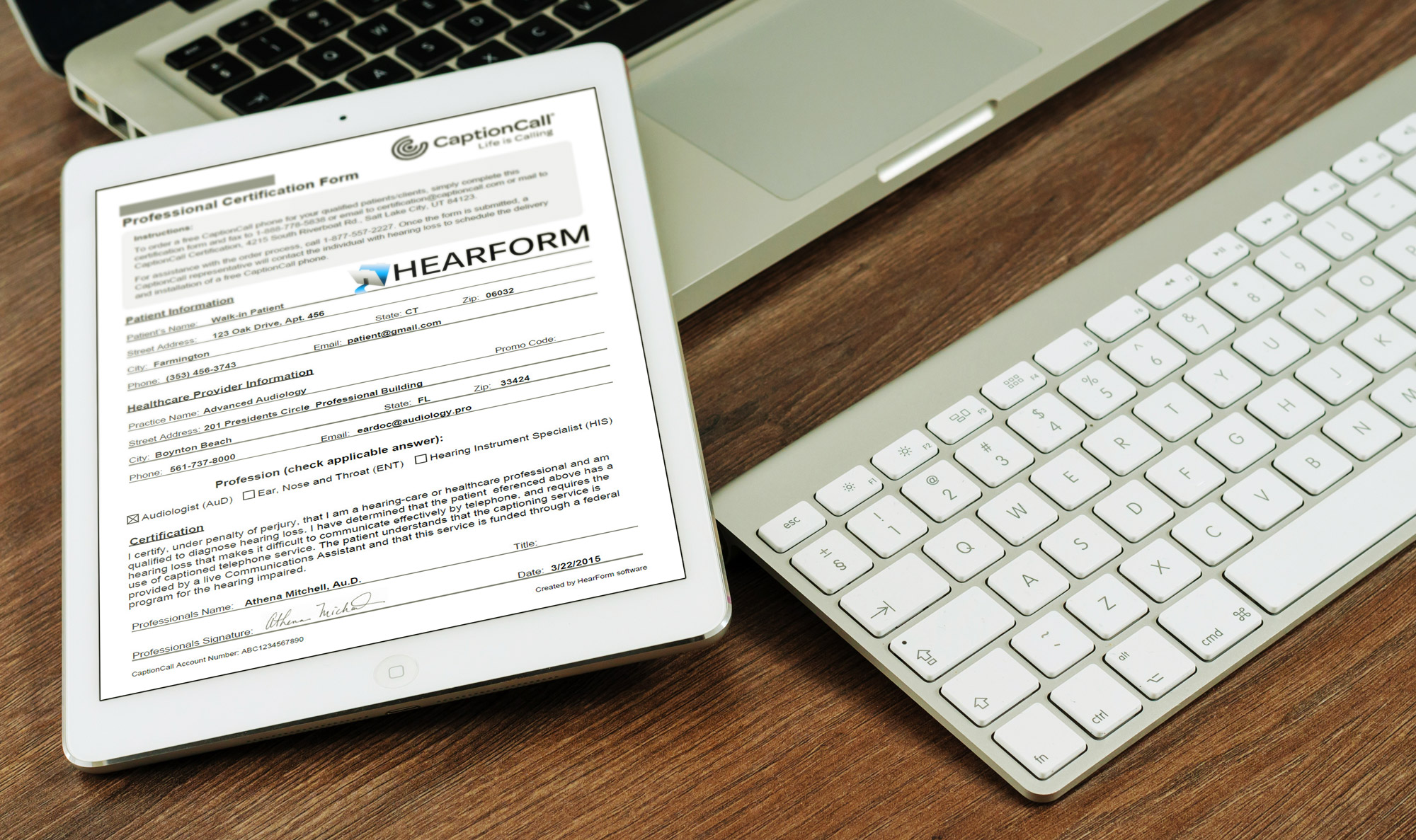 iPad CaptionCall 2000?resize=1200%2C712 hearform audiology software  at panicattacktreatment.co