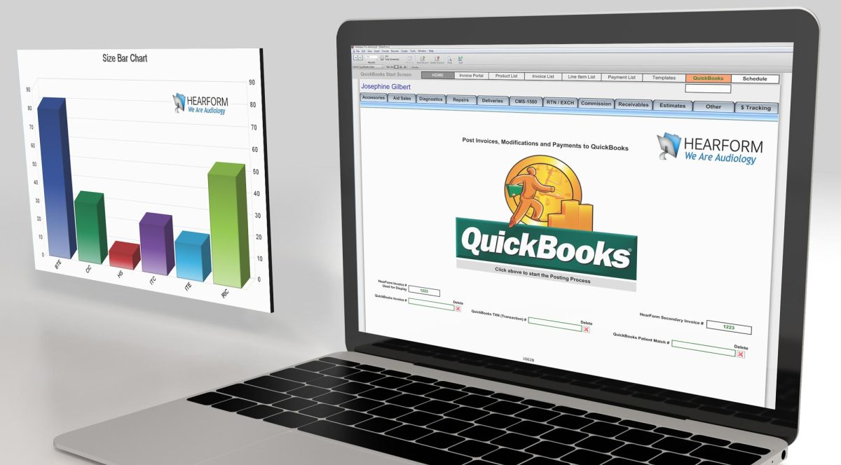 Hearform audiology software while other hearing clinic software depends upon quickbooks for a number of financial functions hearform provides a powerful financial module independent malvernweather Image collections