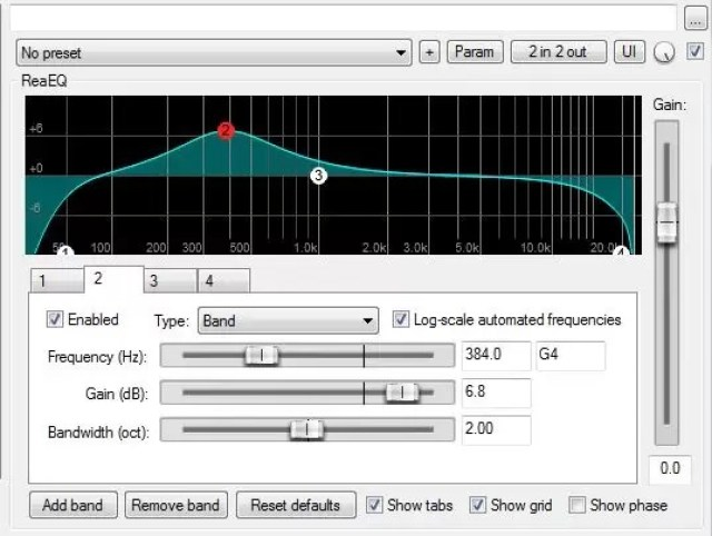 How to EQ with ReaEQ - Reaper's Stock EQ plugin - Audio Ordeal