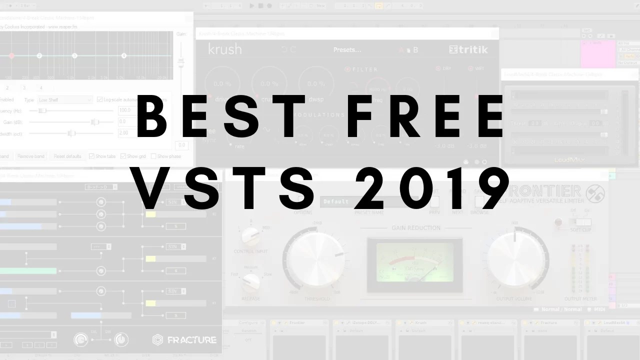 Top free VSTs of 2019 - Audio Ordeal