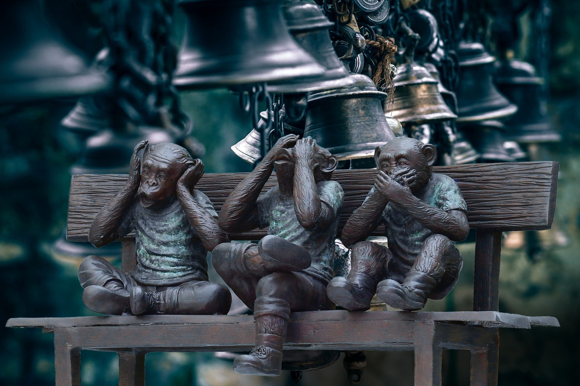 Hear No evil, see no evil, speak no evil - and bad music might be the worst kind of evil.