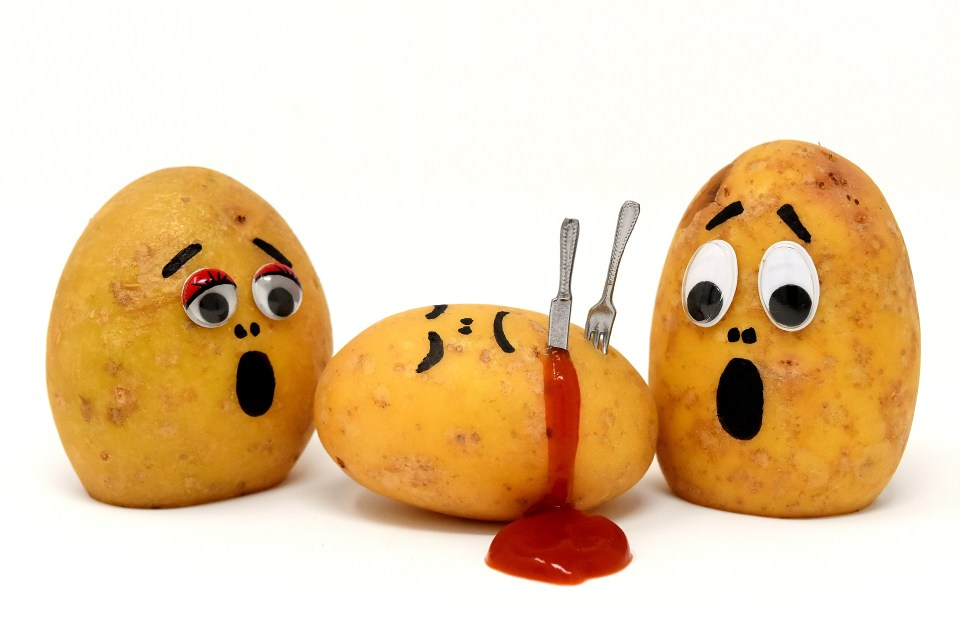 Mack the Knife lived in an alternative timeline where potatoes were people.