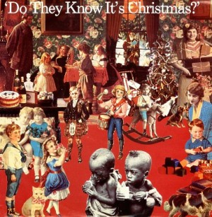 """""""Do They Know it's Christmas?"""" Band Aid - 1984. File used under Fair use Laws."""