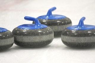 Hockey rocks....err....curling rocks.