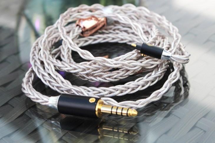 PlusSound X8 Tri-Silver Cable