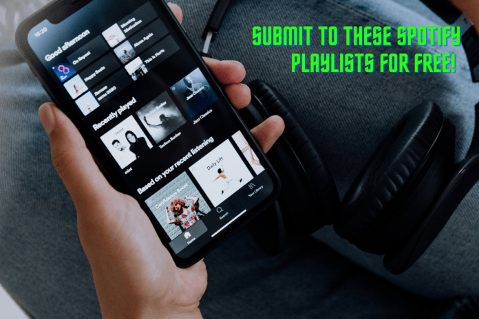 Submit your music to these Spotify playlists for free