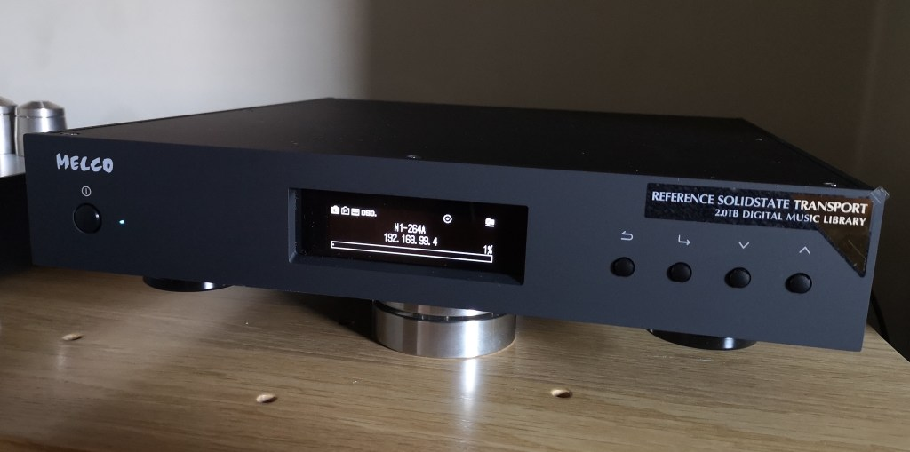 Melco Audio N1ZS/2A @ Audio Therapy