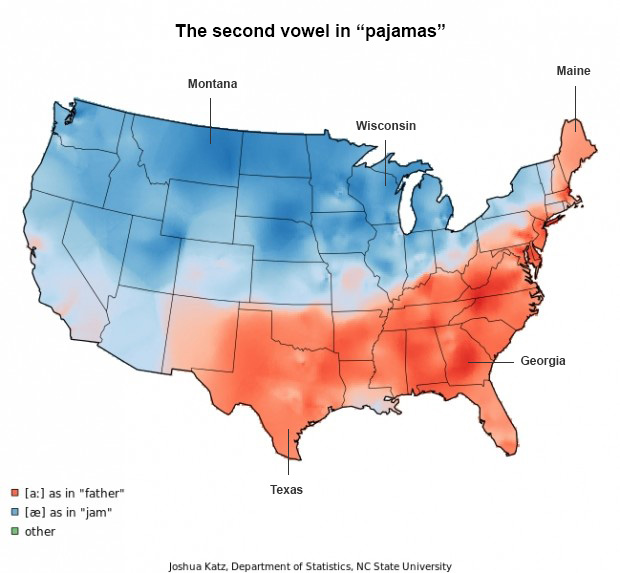 Pajamas - Words Pronounced Differently - Audio Transcription Center Blog