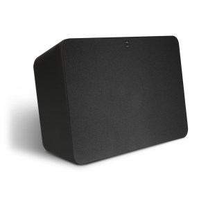 Bluesound PULSE-SUB-Front-with-Grill-Black_3_4-1