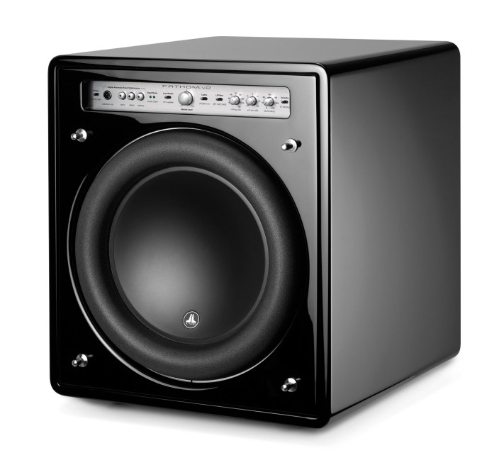 Jl audio, Subwoofer, Fathom.V2 face3/4