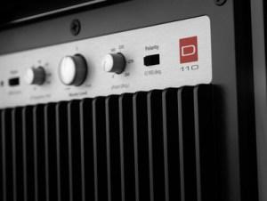 Dominion JL Audio Sub 110 détail