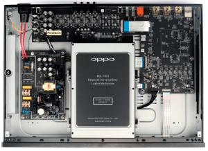 Oppo UBD-203 CD-DVD-BD 4K Ultra HD vue