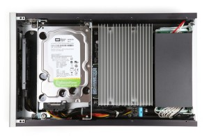 X100 Aurender Server streamer intérieur