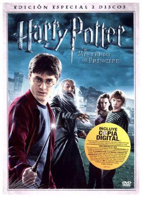 HARRY POTTER Y EL MISTERIO DEL PRÍNCIPE - En DVD Edición Especial